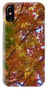 Autumn In The Canopy IPhone Case