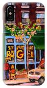 Autumn In The City IPhone Case