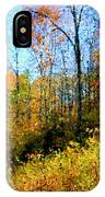 Autumn In The Tennessee Hills IPhone Case
