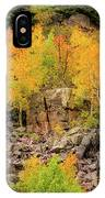 Autumn In The Uinta Mountains IPhone Case