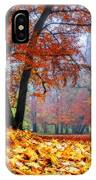 Autumn In The Woodland IPhone Case