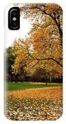 Autumn In Turin, Italy IPhone Case