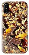 Autumn Is On The Way IPhone Case