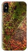 Autumn Leaf Detail IPhone Case