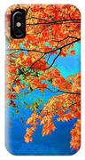 Autumn Leaves 8 IPhone Case