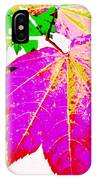 Autumn Leaves Holiday Style IPhone Case