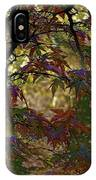 Autumn Leaves In Kyoto IPhone Case