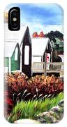 Autumn Lighthouse Miramichi New Brunswick Canada IPhone Case