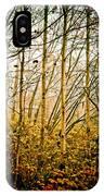 autumn Lines IPhone Case
