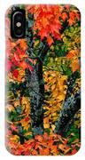 Autumn Maple Bark IPhone Case