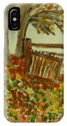 Autumn IPhone X Case