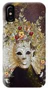 Autumn Mask IPhone Case