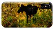 Autumn Moose IPhone Case