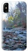Autumn Morning Along The Wissahickon Creek IPhone Case