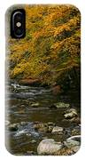 Autumn Mountain Stream IPhone Case