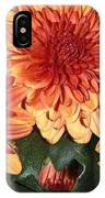 Autumn Mums - Touching IPhone Case