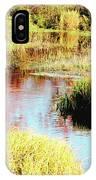 Autumn On A Pennsylvania Mountain Stream IPhone Case