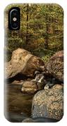 Autumn On The Creek  IPhone Case