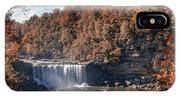 Autumn On The Cumberland  Cumberland Falls IPhone Case