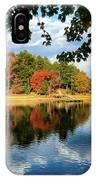 Autumn On The Lake  IPhone Case