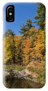 Autumn On The Riverbank - The Changing Forest IPhone Case