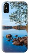 Autumn On The Rocks IPhone Case