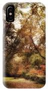 Autumn Passage II IPhone Case