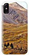 Autumn Peaks In The Rockies IPhone Case