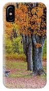 Autumn Picnic IPhone Case