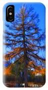 Autumn Pine Tree IPhone Case