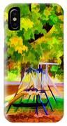 Autumn Playground 1 IPhone Case