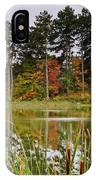 Autumn Pond IPhone X Case