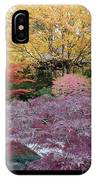 Autumn Purple IPhone Case