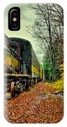 Autumn Railway IPhone Case