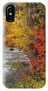 Autumn Rapids IPhone Case