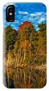 Autumn Reflection II IPhone Case