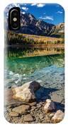 Autumn Reflection Of Pyramid Mountain IPhone Case