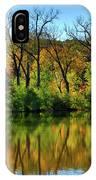 Autumn Reflections On Salt Creek IIi IPhone Case
