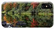 Autumn River Landscape IPhone Case