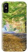 Autumn Road 2 IPhone Case