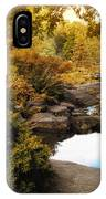 Autumn Rock Garden IPhone Case