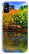 Autumn Sings IPhone Case