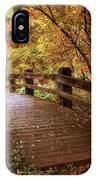 Autumn Splendor Bridge IPhone Case