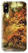 Autumn Splendor Promenade IPhone Case