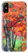 Autumn Sugar Maple IPhone Case