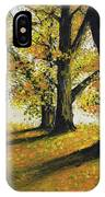 Autumn Sunny Day IPhone Case