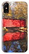 Autumn Sunrise Bridge II IPhone Case