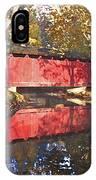Autumn Sunrise Bridge IPhone Case