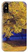 Autumn Sunrise In The Country IPhone Case