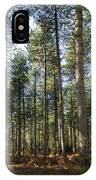Autumn Tranquil Forest IPhone X Case